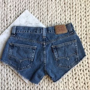 5 for $25 SALE Levi's Cheeky Fit Cut Off  Shorts